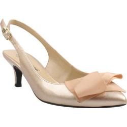 Women's J. Renee Lilliana Gold Blush Patent Leather