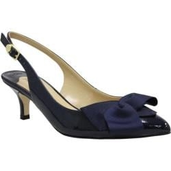 Women's J. Renee Lilliana Navy Patent Leather