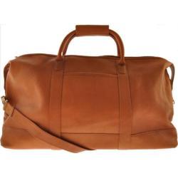 Millennium Leather Vaqueta Getaway Bag Tan Vaqueta Napa
