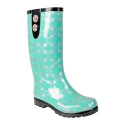 Women's Nomad Puddles II Green Chain