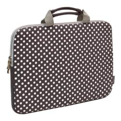 Sumdex NeoArt Printed Neoprene Sleeve - 14.1in Grey/White Dots