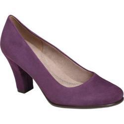 Women's Aerosoles Dolled Up Dark Purple Suede