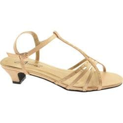 Women's Annie Evana Gold Satin