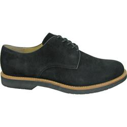 Men's Bass Buckingham Black Kid Suede