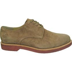 Men's Bass Buckingham Taupe Kid Suede