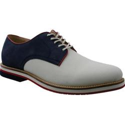 Men's Bass Buckingham White Nubuck/Navy Real Deal