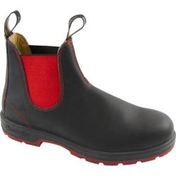 Blundstone 1316 Black Leather/Red Gore/Red