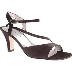 Women's David Tate Beverly Black Satin