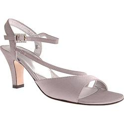 Women's David Tate Beverly Silver Satin