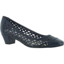Women's Easy Street Chloe New Navy Polyurethane