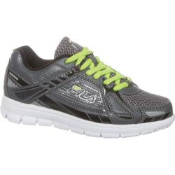 Children's Fila Reckoning 4 Castlerock/Black/Lime Punch