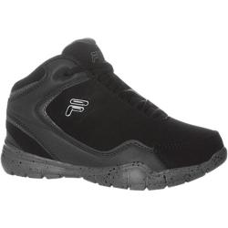 Children's Fila Breakaway 4 Black/Pewter/Metallic Silver
