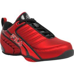 Children's Fila Clutch 6 Fila Red/Black/Metallic Silver