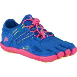 Children's Fila Skele-Toes Bayrunner 3 Dazzling Blue/Lime Punch/Hot Pink