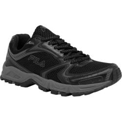 Men's Fila Trail Ascent 15 Black/Pewter/Metallic Silver