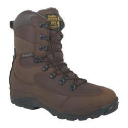 Men's Golden Retriever Footwear 4080 Chetco Brown Waterproof Buffalo Leather