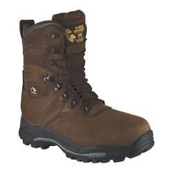Men's Golden Retriever Footwear 4788 Brown Nubuck Leather