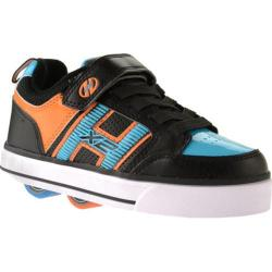 Boys' Heelys Bolt Plus X2 Black/Cyan/Orange
