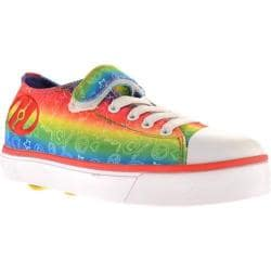 Girls' Heelys Snazzy Pink/Red/Green/Multi Canvas
