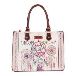 Women's Nicole Lee Dorothy Print Tote Bag Dream Catcher