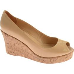 Women's Samanta Kame Beige Patent Leather