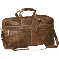 Scully Leather Duffel Bag Aerosquadron Collection 6607 Walnut