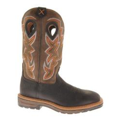 Men's Twisted X Boots MLCW005 Oiled Black/Brown Leather