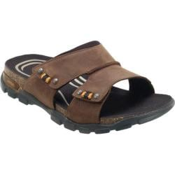 Men's Aetrex Ventura Brown Leather