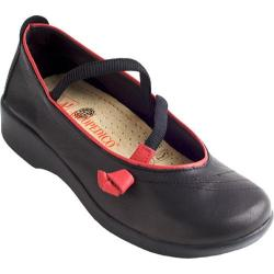Women's Arcopedico Vitoria Black/Red Leather