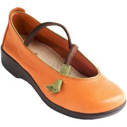 Women's Arcopedico Vitoria Orange Leather