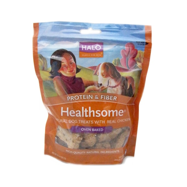 Halo Heathsome Natural Real Chicken Dog Treats