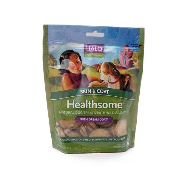 Halo Healthsome Natural Wild Salmon Dog Treats
