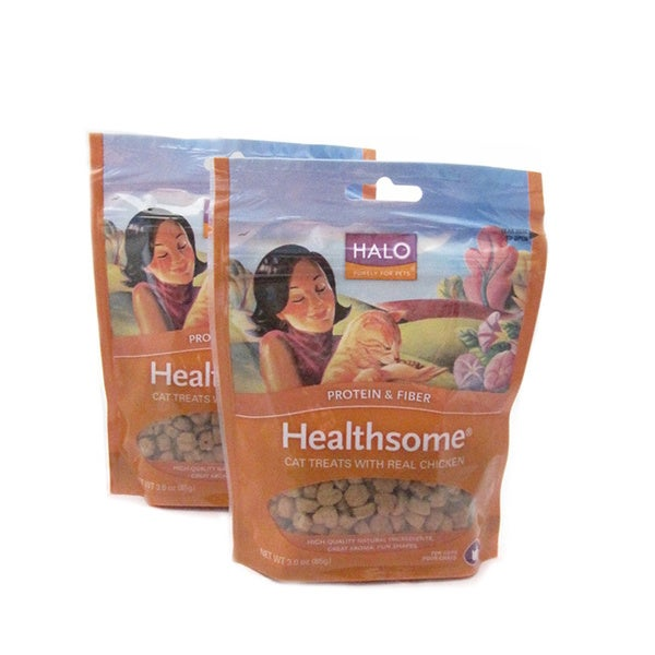 Halo Healthsome Chicken Cat Treats (Pack of 2)