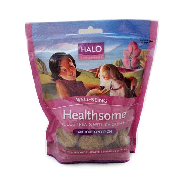 Halo Healthsome Chicken/ Cheese Natural Dog Treats