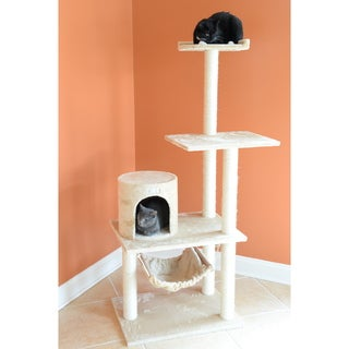 GleePet 59-inch Cat Scratching Tree Furniture