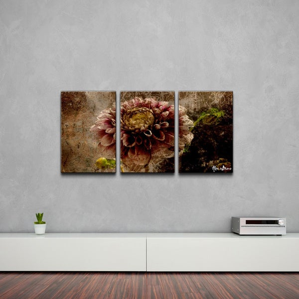 ready2hangart 39 floral 39 abstract canvas wall art 3 piece