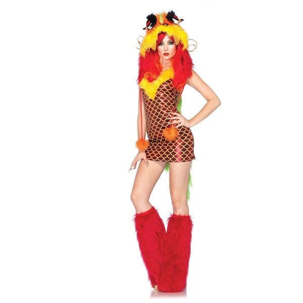 Leg Avenue Women's 'Imperial Dragon' 2-piece Costume costumes