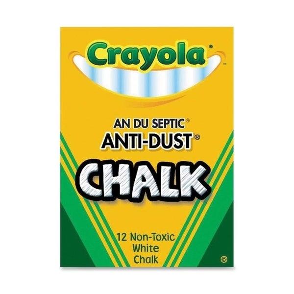 Crayola Nontoxic Anti-dust Chalk (Pack of 12) 11810435