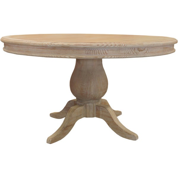 La France Reclaimed Wood Round Distressed Dining Table  : La France Reclaimed Wood Dining Table 6fea3c8e 26c9 4b85 a155 0871529e209c600 from www.overstock.com size 600 x 600 jpeg 21kB