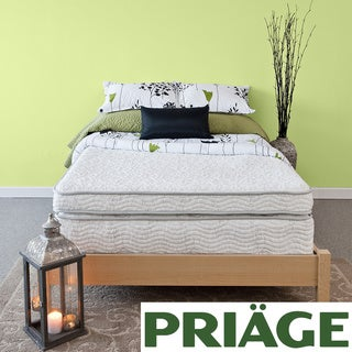 Priage Hybrid 13-inch Euro Box Top Queen-size Comfort Gel Memory Foam iCoil Mattress