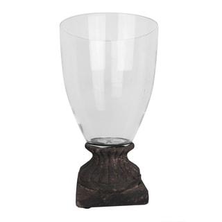 Antique Glass Candle Jar