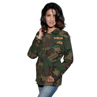 JAH Juniors Rasta Camouflauge Jacket (Nepal)