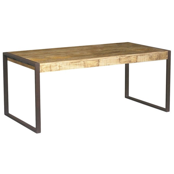 Timbergirl Reclaimed Wood And Metal Dining Table India 15702644