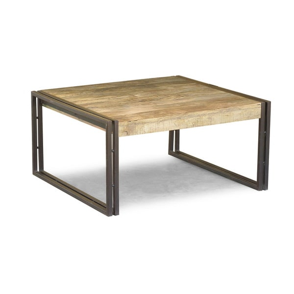 Handcrafted Reclaimed Wood Coffee Table India Overstock