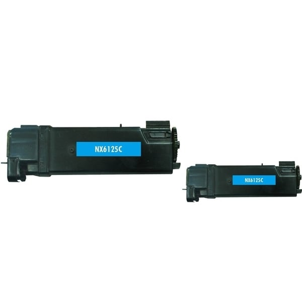 Insten Premium Cyan Color Toner Cartridge 106R01331 for Xerox Phaser 6125