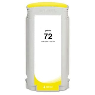 HP 72 Yellow Ink Cartridge (Remanufactured)