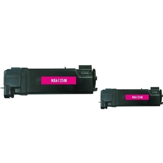 Insten Premium Color Toner Cartridge for Xerox Phaser 6125's 106R01332 M