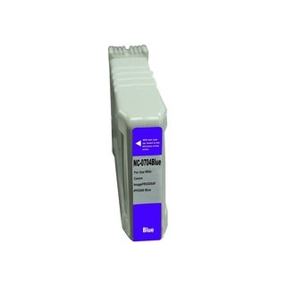 BasAcc Blue Ink Cartridge Compatible with Canon PFI-704