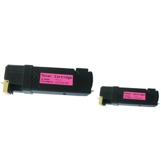 BasAcc Toner Cartridge Compatible with Xerox Phaser 6500/ 6500n (Pack of 2)