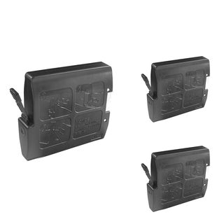 INSTEN Black Cartridge Set for Brother LC-51Bk (Pack of 3)